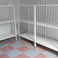 Металлические стеллажи для складов, торговых помещений
