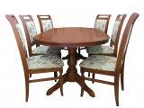 Деревянный стол серии Лидер со стульями Премьер-М из массива березы