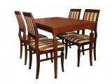 Деревянный стол серии Лидер со стульями Визит-2 из массива березы